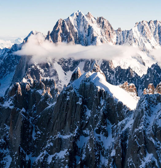 Mont Blanc Helicoper