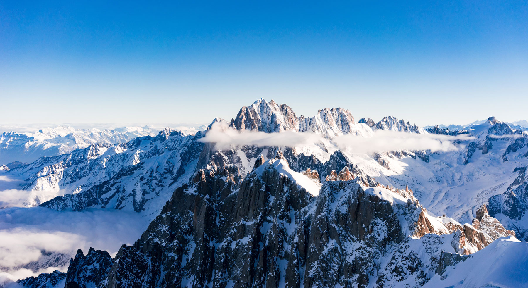 Mont blanc helicopter shoot